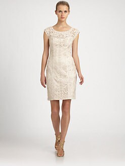 Sue Wong - Embroidered Dress