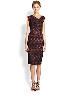 Black Halo - Lace Jackie O. Dress