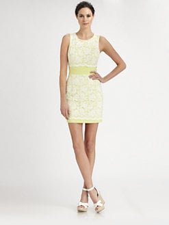 ABS - Lace Overlay Dress