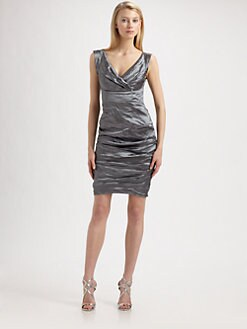 Nicole Miller - Metallic Dress
