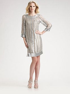 Candela - Bianca Sequined Dress