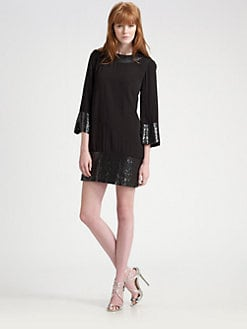Candela - New Maria Sequined Mini Dress