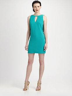 Rachel Roy - Ruffled Scoop-Back Dress