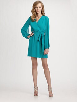ERIN by Erin Fetherston - Chiffon Wrap Dress