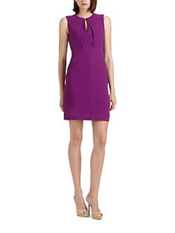 Rachel Roy - Crepe Keyhole Dress