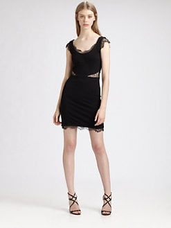 ERIN by Erin Fetherston - Lace-Trimmed Dress