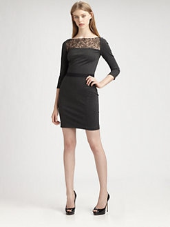 ERIN by Erin Fetherston - Lace Yoke Dress