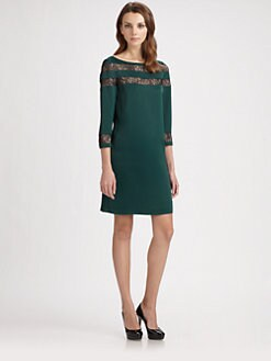 ERIN by Erin Fetherston - Lace Inset Dress
