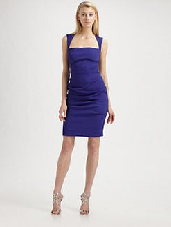 Nicole Miller - Cutout-Back Dress