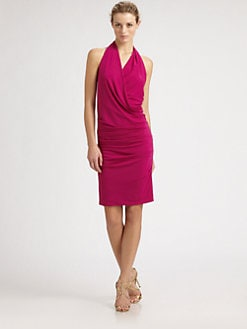 Nicole Miller - Silk Halter Dress