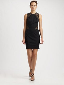 Kurt Thomas - Sequin-Contrast Dress