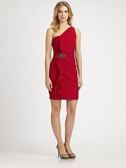 Kurt Thomas - Silk One-Shoulder Dress