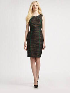 David Meister - Tweed Dress