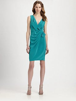 ABS - Draped Bow Dress