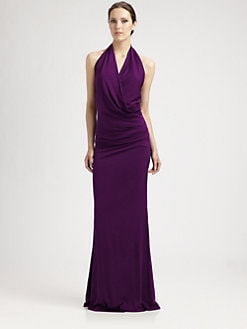 Nicole Miller - Halter Jersey Gown