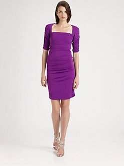 Nicole Miller - Stretch Matte Jersey Dress