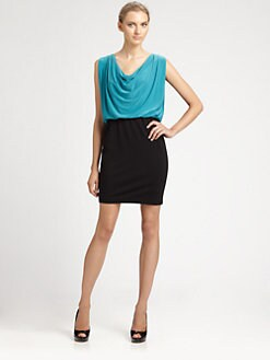 Aidan Mattox - Blouson Bodice Dress