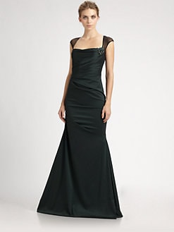 David Meister - Taffeta Gown
