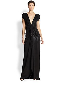 ABS - Draped Gown