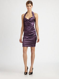 Nicole Miller - Techno Halter Dress