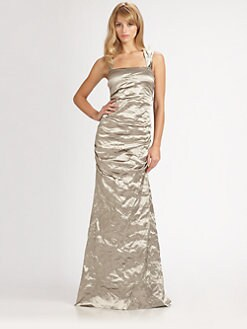 Nicole Miller - Metallic Gown