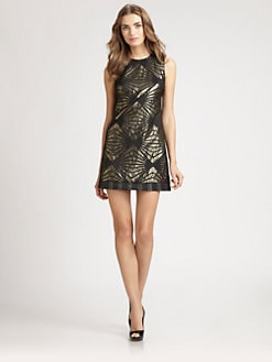 ABS - Brocade Dress