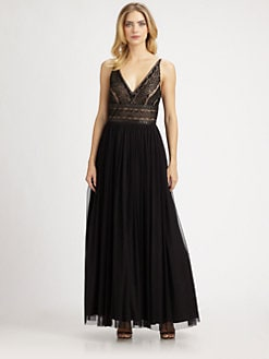 Aidan Mattox - Beaded Gown