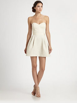 ERIN by Erin Fetherston - Strapless Brocade Dress