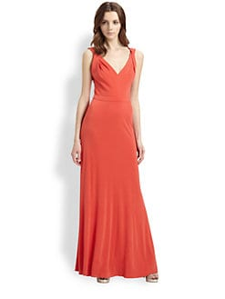 ISSA - Silk Jersey Gown