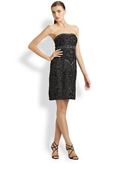 Sue Wong - Beaded Strapless Dress