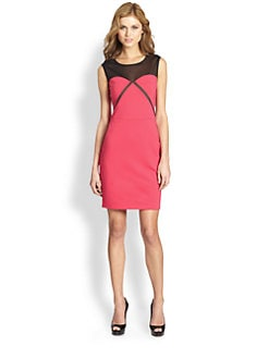 ERIN by Erin Fetherston - Mesh Detail Ponte Dress