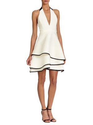 Ruffled Halter Dress
