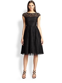 ABS - Open-Back Lace Dress