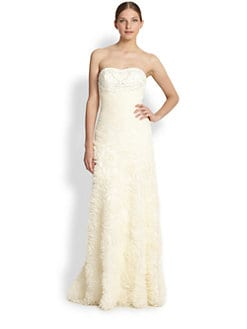 Sue Wong - Strapless Tulle Gown