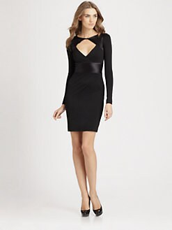 Halston Heritage - Inset Dress