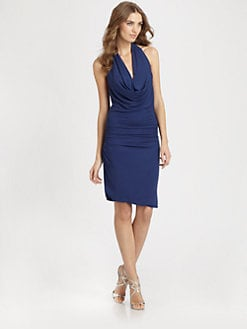 Halston Heritage - Halter Dress