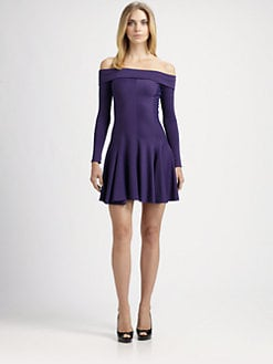 Halston Heritage - Off-The-Shoulder Dress