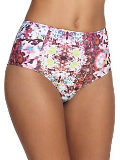 6 Shore Road - Nayda Printed Bikini Bottom
