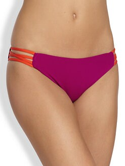 L*Space - Low Down Colorblock Bikini Bottom