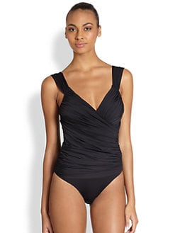 Clube Bossa - One-Piece Ruched Swimsuit