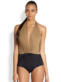 Clube Bossa - One-Piece Halter Swimsuit
