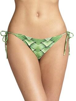 Agua de Coco by liana thomaz - Verdure String Bikini Bottom <br>