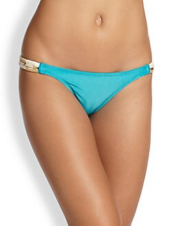Vix Swim - Woven Side Bikini Bottom <br>