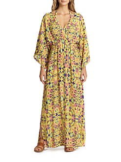 Vix Swim - Kaleidoscope-Print Maxi Dress <br>