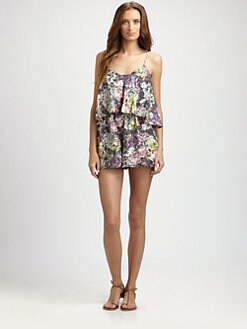 Zimmermann - Silk Vase Playsuit