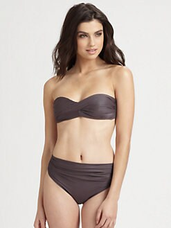 Lenny Niemeyer Swim - Sculpted Bandeau Bikini Top