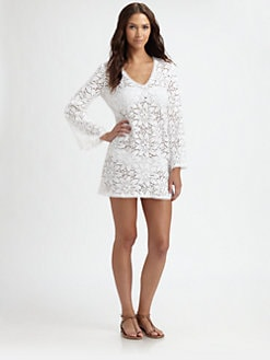 Milly - Cotton Crochet Tunic