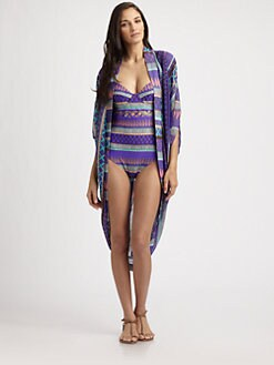 Mara Hoffman - Frida Cocoon Swim Coverup