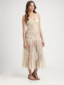 Zimmermann - Elixir Crochet Dress