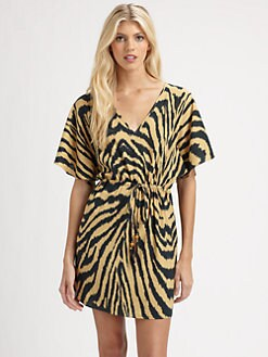 Vix Swim - Silk Cape Tunic Dress